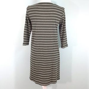 She and Sky Dresses - Pretty Sweater Dress with Lace Up Chest Size Large